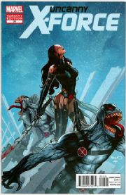 Uncanny X-Force #20 Venom Retail Variant 1:50 (2010) Marvel comic book